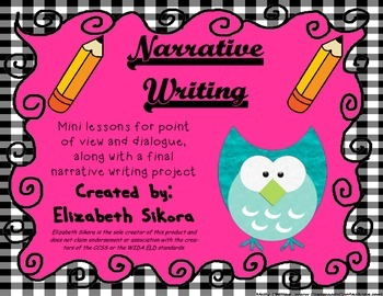 Narrative Writing: Changing Perspectives