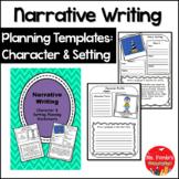 Narrative Writing Character & Setting Worksheets