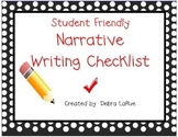 Narrative Writing Checklist in English and Spanish