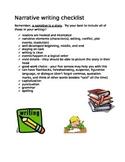 Narrative Writing Checklist