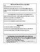 Narrative Writing Checklist & Graphic Organizer