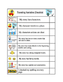 Narrative Writing Checklist: Topic: Characters travel to a place (readygen 4A)
