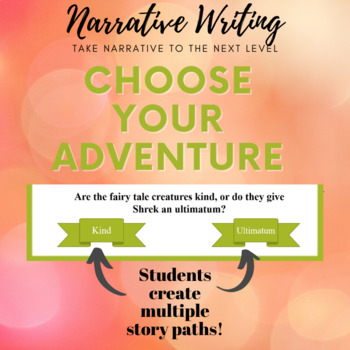 Narrative Writing: Choose Your Adventure Style