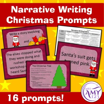 Narrative Writing Christmas Prompts