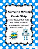 Narrative Writing Comic Strip Template