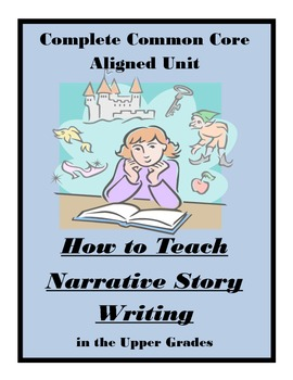 Narrative Writing CCS Worksheet Activities Assessments Complete Unit