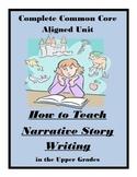 Narrative Writing CCS Worksheet Activities Assessments Com