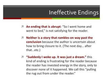 Narrative Writing (Complete Unit Presentation)