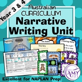 Narrative Writing Unit - Year 3 and 4
