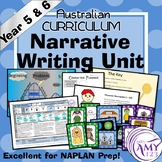 Narrative Writing Unit - Year 5 and 6