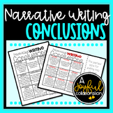 Narrative Writing Conclusion Resource