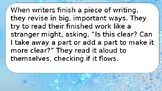 Narrative Writing - Crafting True Stories - Bend 4
