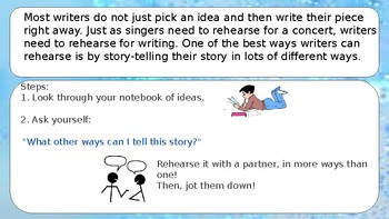 Narrative Writing - Crafting True Stories - Choosing