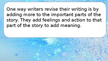 Narrative Writing - Crafting True Stories - Revising