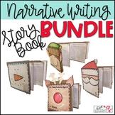 Narrative Writing- Create a Holiday Story Book BUNDLE