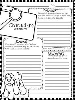 Narrative Writing: Create a Mystery Story