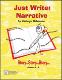 Narrative Writing Program - Daily Lessons & Templates 4th - 6th Grade {9 Weeks}