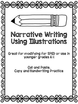Narrative Writing Cut and Paste