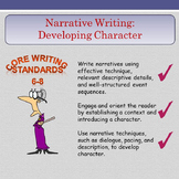 Narrative Writing - Developing Character