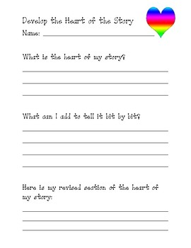 Narrative Writing: Developing the Heart of the Story