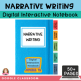 Narrative Writing Digital Interactive Notebook | Google Cl