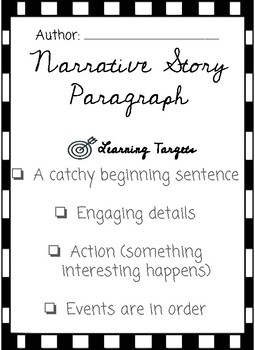 Narrative Writing Draft and Final Copy