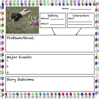 Narrative Writing Easter Activity