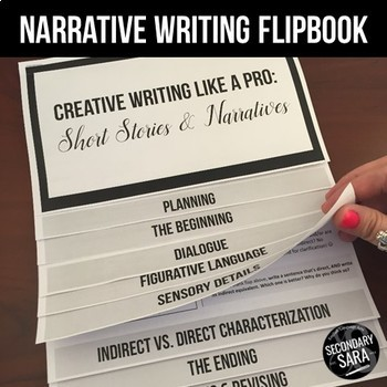 Narrative Writing Flip Book: Mini-Lessons for ANY Unit