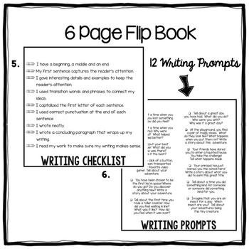 Narrative Writing Graphic Organizers and Flip Book