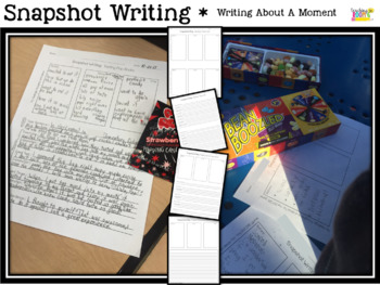 Narrative Writing: Focusing in on a Moment