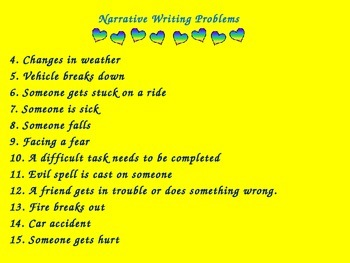 Narrative Writing For FCAT Writes