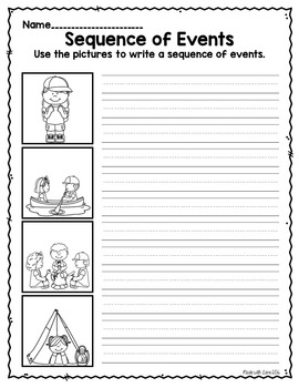 Narrative Writing Freebie: Sequence of Events (PowerPoint)