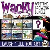 Narrative Writing GROWING Bundle - Writing Task Cards & Ac