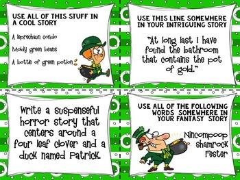Narrative Writing GROWING Bundle - Writing Task Cards & Activities