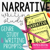 Narrative Writing Genre Study with Lessons, Notes, and Narrative Writing Prompts