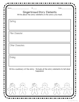 Gingerbread Stories Study: Reading and Writing Unit for Grades 1-3
