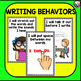 Goal Setting MINI POSTERS for K-1 Writers! Narrative Writing