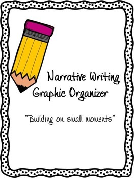 Narrative Writing Graphic Organizer: Building on small moments