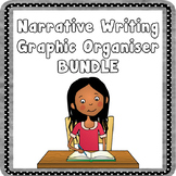 Narrative Writing Graphic Organizer Bundle - Writing Planners