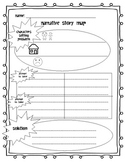 Narrative Writing Graphic Organizer (Problem/Solution)