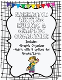 Narrative Writing Graphic Organizer & Rubrics