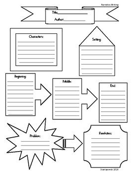 Narrative Writing Graphic Organizer/Story Elements