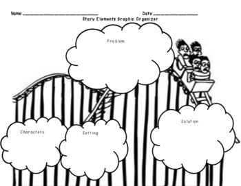 Narrative Writing Graphic Organizer/Story Elements Graphic Organizer
