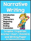Narrative Writing- Graphic Organizer, Writing Paper, Check