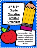 Narrative Writing Graphic Organizer for 2nd and 3rd Grade