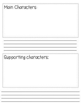 Narrative Writing Graphic Organizer/Book
