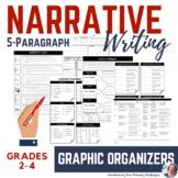 Narrative Writing Graphic Organizers (2nd-4th Grade)