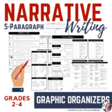 Narrative Writing Graphic Organizers (2nd-4th Grade)
