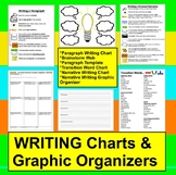 Narrative Writing Graphic Organizers & Charts (Paragraph Writing, too)