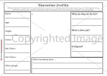 Narrative Writing Graphic Organizers Pack